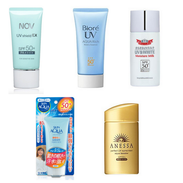 5 Of The Best Japanese Drugstore Sunscreens.